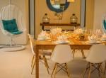 14-Villa Roxo - Dining setup