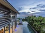 16-Villa Roxo - Pool view from upstairs balcony