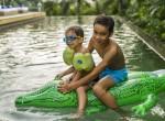 5-Villa Roxo - Kids in the pool